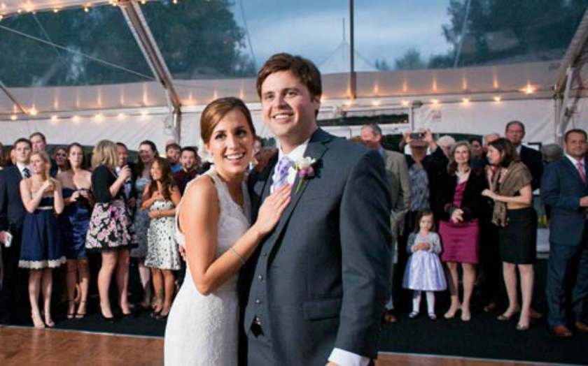 Hallie Jackson's daughter's mother is married to Frank Thorpe?