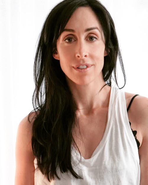 What the hell is wrong with Catherine Reitman Mouth & Botched Lip